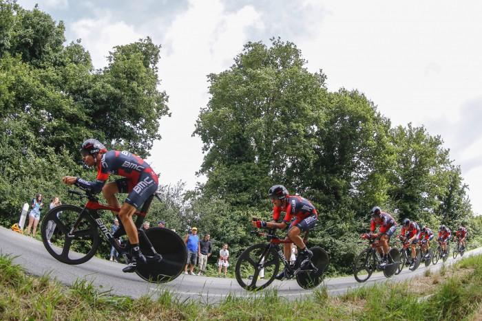 Tour de France 2015 - 102a Edizione - 9a tappa Vannes - Plumelec 28 km - 12/07/2015 - BMC - foto Luca Bettini/BettiniPhoto©2015
