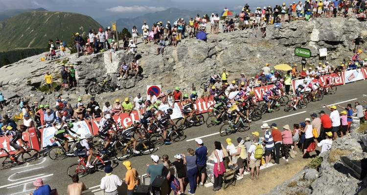 The day's final climb wreaked havoc on the peloton.