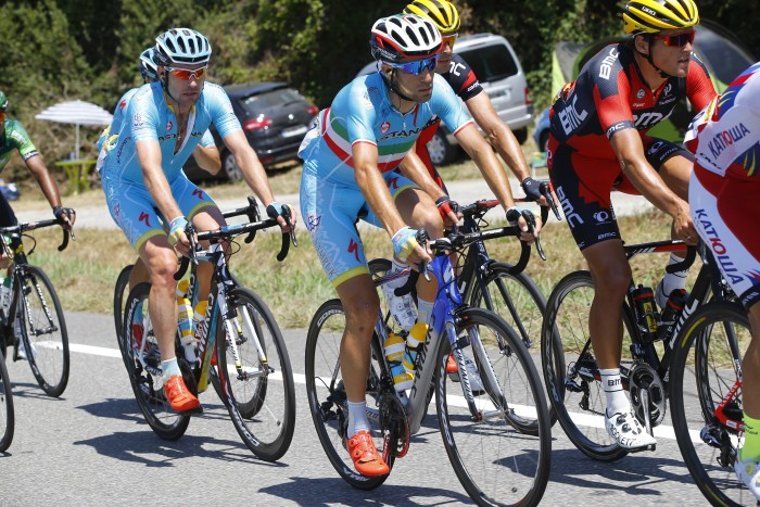 Reigning Toue de France champion Vincenzo Nibali lost a large amount of time to rival Chris Froome on Stage 10.