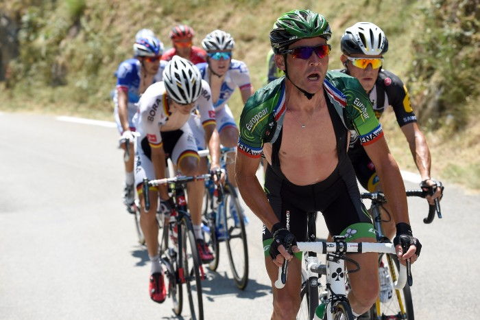 Tour de France 2015 - 102a Edizione - 11a tappa Pau - Cauterets 188 km - 15/07/2015 - Thomas Voeckler (Europcar) - foto Graham Watson/BettiniPhoto©2015