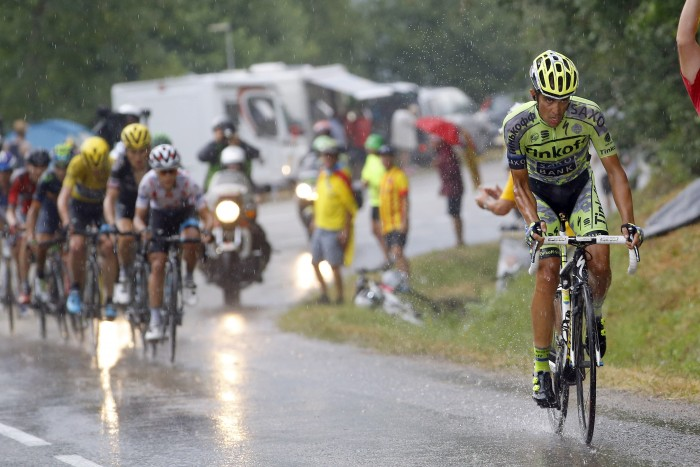 Tour de France 2015 - 102a Edizione - 12a tappa Lannemezan - Plateau de Beille 195 km - 16/07/2015 - Alberto Contador (Tinkoff - Saxo) - foto Luca Bettini/BettiniPhoto©2015