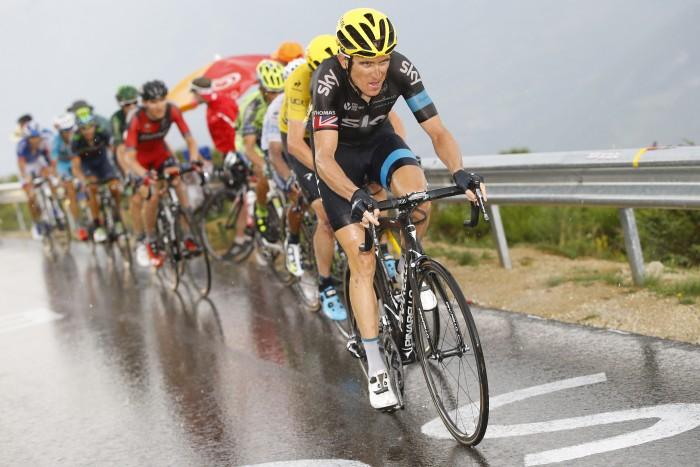 Tour de France 2015 - 102a Edizione - 12a tappa Lannemezan - Plateau de Beille 195 km - 16/07/2015 - Geraint Thomas (Team Sky) - foto Luca Bettini/BettiniPhoto©2015