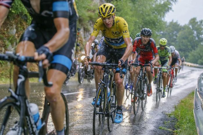 Tour de France 2015 - 102a Edizione - 12a tappa Lannemezan - Plateau de Beille 195 km - 16/07/2015 - Christopher Froome (Team Sky) - foto Luca Bettini/BettiniPhoto©2015