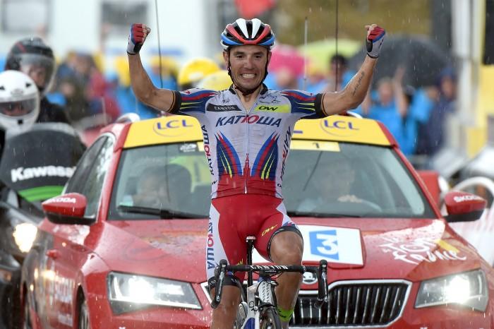 Tour de France 2015 - 102a Edizione - 12a tappa Lannemezan - Plateau de Beille 195 km - 16/07/2015 - Joaquin Rodriguez (Katusha) - foto Graham Watson/BettiniPhoto©2015