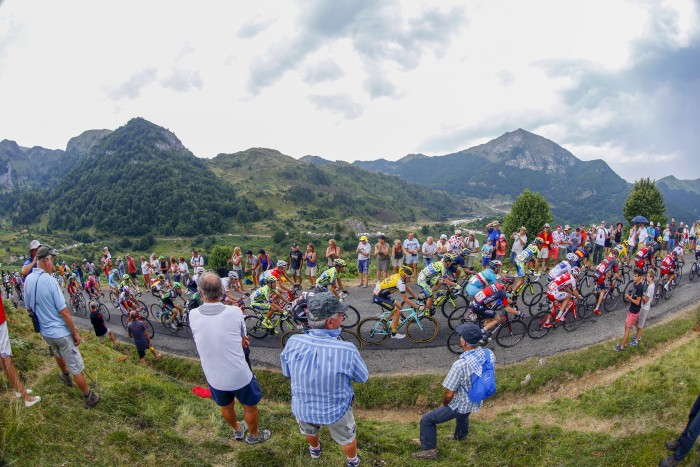 Tour de France 2015 - 102a Edizione - 12a tappa Lannemezan - Plateau de Beille 195 km - 16/07/2015 - Veduta - foto Luca Bettini/BettiniPhoto©2015