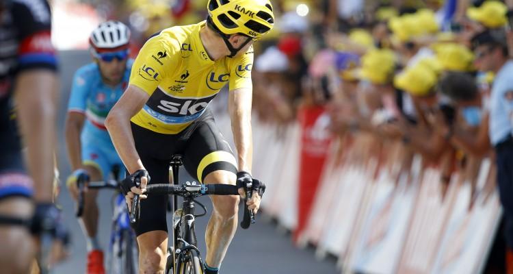 Tour de France 2015 - 102a Edizione - 13a tappa Muret - Rodez 198.5 km- 17/07/2015 - Christopher Froome (Team Sky) - foto Luca Bettini/BettiniPhoto©2015
