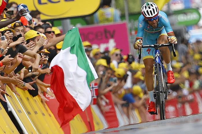 Tour de France 2015 - 102a Edizione - 16a tappa Bourg de Peage - Gap 201 km- 20/07/2015 - Vincenzo Nibali (Astana) - foto Luca Bettini/BettiniPhoto©2015