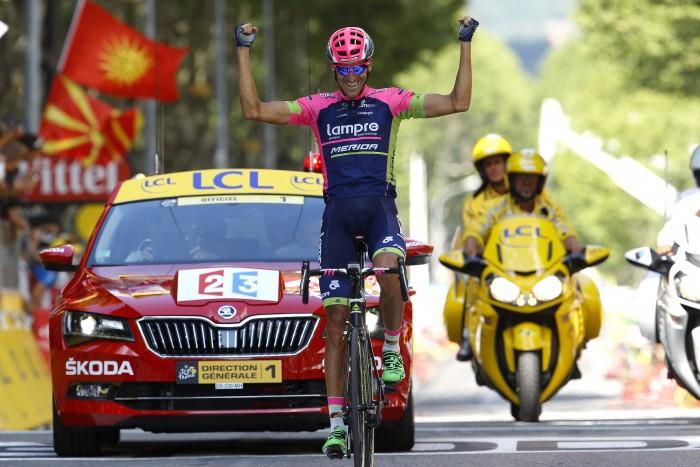 Tour de France 2015 - 102a Edizione - 16a tappa Bourg de Peage - Gap 201 km- 20/07/2015 - Ruben Plaza Molina (Lampre - Merida) - foto Luca Bettini/BettiniPhoto©2015