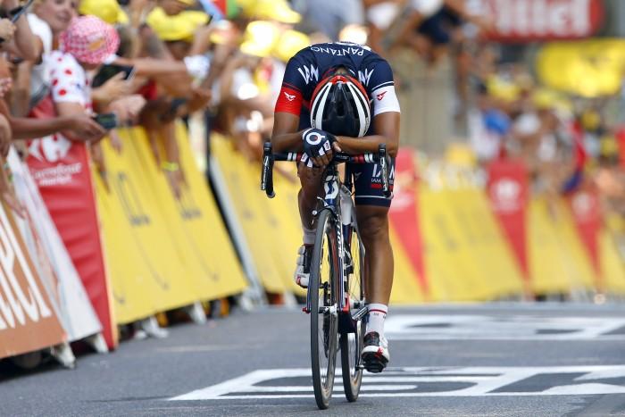 Tour de France 2015 - 102a Edizione - 16a tappa Bourg de Peage - Gap 201 km- 20/07/2015 - Jarlinson Pantano (IAM Cycling) - foto Luca Bettini/BettiniPhoto©2015