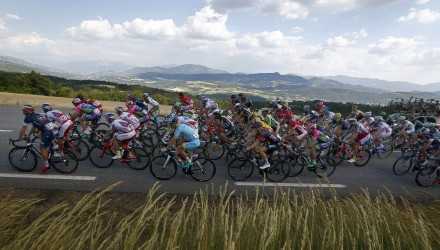 Tour de France 2015 - 102a Edizione - 16a tappa Bourg de Peage - Gap 201 km- 20/07/2015 - Veduta - foto Sabine Jacob/CV/BettiniPhoto©2015