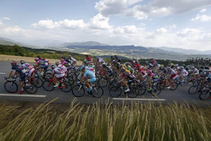 Tour de France 2015 - 102a Edizione - 16a tappa Bourg de Peage - Gap 201 km- 20/07/2015 - Veduta - foto Sabine Jacob/CV/BettiniPhoto©2015
