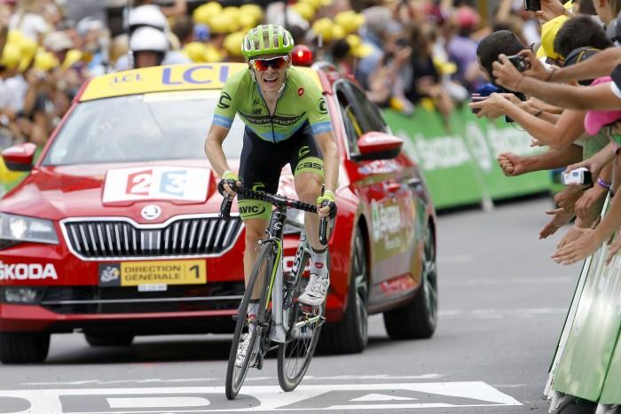 Tour de France 2015 - 102a Edizione - 17a tappa Digne les Bains - Pra Loup 161 km - 22/07/2015 - Andrew Talansky (Cannondale - Garmin) - foto Luca Bettini/BettiniPhoto©2015