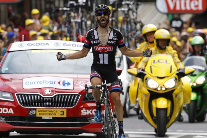 Tour de France 2015 - 102a Edizione - 17a tappa Digne les Bains - Pra Loup 161 km - 22/07/2015 - Simon Geschke (Giant - Alpecin) - foto Luca Bettini/BettiniPhoto©2015
