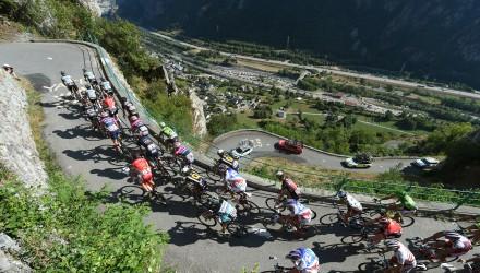 Tour de France 2015 - 102a Edizione - 18a tappa Gap - Saint Jean de Maurienne 186.5 km - 23/07/2015 - Veduta - Lacets de Montvernier - foto Graham Watson/BettiniPhoto©2015