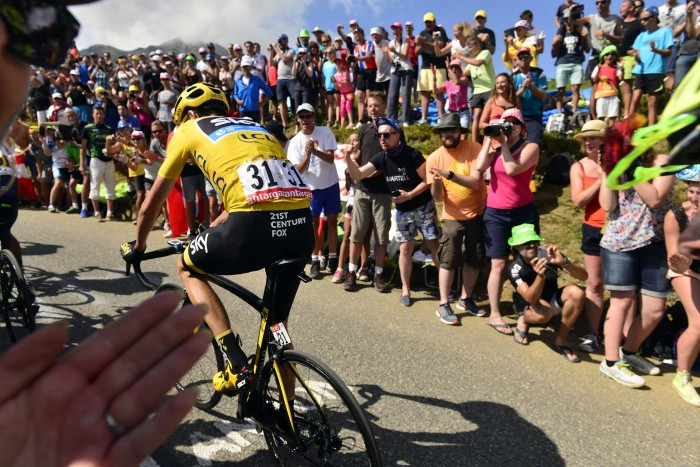 Tour de France 2015 - 102a Edizione - 18a tappa Gap - Saint Jean de Maurienne 186.5 km - 23/07/2015 - Christopher Froome (Team Sky) - foto Herman Seidl/BettiniPhoto©2015
