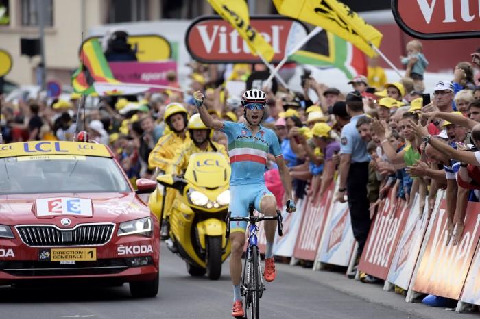 Tour de France 2015 - 102a Edizione - 19a tappa La Toussuire - Les Sybelles, France - 24/07/2015 - Vincenzo Nibali (Astana) - foto Luca Bettini/BettiniPhoto©2015