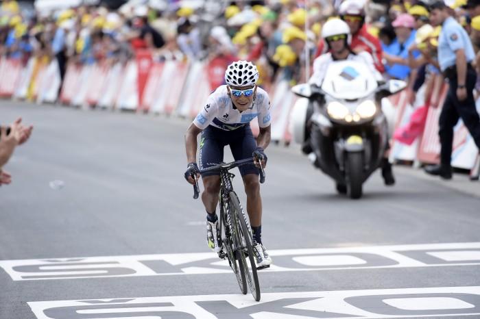 Tour de France 2015 - 102a Edizione - 19a tappa La Toussuire - Les Sybelles, France - 24/07/2015 - Nairo Quintana (Movistar) - foto Luca Bettini/BettiniPhoto©2015