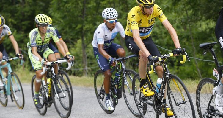 Tour de France 2015 - 102a Edizione - 19a tappa Saint Jean de Maurienne - La Toussuire 138 km - 24/07/2015 - Christopher Froome (Team Sky) - foto Luca Bettini/BettiniPhoto©2015