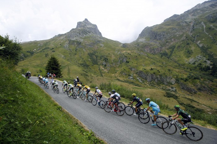 Tour de France 2015 - 102a Edizione - 19a tappa Saint Jean de Maurienne - La Toussuire 138 km - 24/07/2015 - Veduta - Col du Glandon - foto Luca Bettini/BettiniPhoto©2015