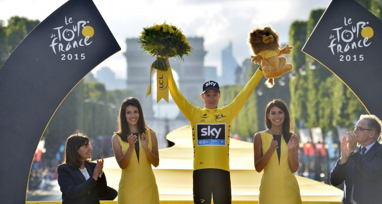 Tour de France 2015 - 102a Edizione - 21a tappa Sevres - Paris Champs Elysees 109.5 km - 26/07/2015 - Christopher Froome (Team Sky) - foto Vincent Kalut/PN/BettiniPhoto©2015