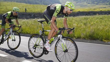 Giro d' Italia 2015 - 98a Edizione - 19a tappa Gravellona Toce - Cervinia 236 km - 29/05/2015 - Ryder Hesjedal (Cannondale - Garmin) - foto Luca Bettini/BettiniPhoto©2015