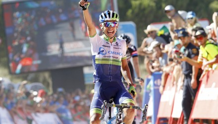Vuelta Spagna 2015 - 70a Edizione - 2a tappa Alhaurin de la Torre - Caminito del Rey 158.7 km - 23/08/2015 - Jhoan Esteban Chaves (Orica - GreenEdge) - foto Luca Bettini/BettiniPhoto©2015
