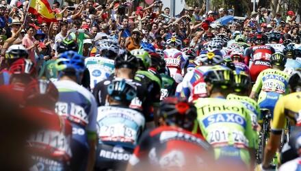 Vuelta Spagna 2015 - 70a Edizione - 5a tappa Rota - Alcala de Guadaira 167.3 km - 26/08/2015 - Veduta - foto Luca Bettini/BettiniPhoto©2015