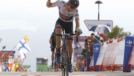Vuelta Spagna 2015 - 70a Edizione - 9a tappa Torrevieja - Cumbre del Sol 168.3km - 30/08/2015 - Tom Dumoulin (Giant - Alpecin) - foto Luca Bettini/BettiniPhoto©2015