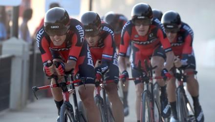 Vuelta Spagna 2015 - 70a Edizione - 1a tappa Porto Banus - Marbella 7.4 km - 22/08/2015 - BMC - foto Graham Watson/BettiniPhoto©2015