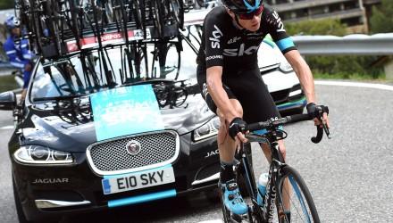 Vuelta Spagna 2015 - 70a Edizione - 11a tappa Andorra la Vella - Cortals d'Encamp 138 km - 02/09/2015 - Christopher Froome (Team Sky) - foto Graham Watson/BettiniPhoto©2015