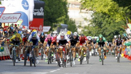 Vuelta Spagna 2015 - 70a Edizione - 12a tappa Escaldes - Engordany Andorra - Lleida 173 km - 03/09/2015 - Danny Van Poppel (Trek Factory Racing) - foto Luca Bettini/BettiniPhoto©2015