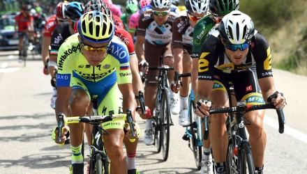 Vuelta Spagna 2015 - 70a Edizione - 13a tappa Catalayud - Tarazona 178 km - 04/09/2015 - Pawel Poljanski (Tinkoff - Saxo) - foto Graham Watson/BettiniPhoto©2015