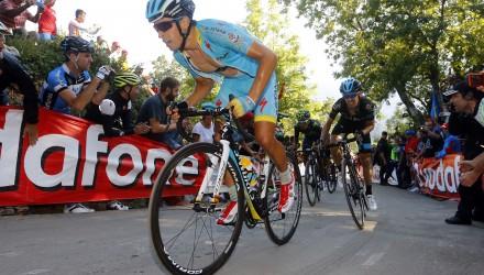 Vuelta Spagna 2015 - 70a Edizione - 16a tappa Luarca - Ermita del Alba Quiros 185 km - 07/09/2015 - Mikel Landa (Astana) - foto Luca Bettini/BettiniPhoto©2015