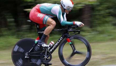 Campionati del Mondo Richmond 2015 - Road World Championship 2015 - Cronometro Uomini Elite'  53,5 km - 23/09/2015 - Vasil Kiryienka (Bielorussia) - foto Luca Bettini/BettiniPhoto©2015