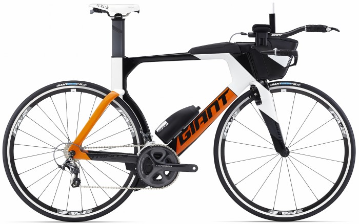 With its Advanced-grade composite frameset and triathlon-specific features including the AeroVault hydration and storage system, downtube water bottle and integrated rear brake fairing, the Trinity Advanced Pro 2 is an attainable race-ready bike for triathletes of all levels.