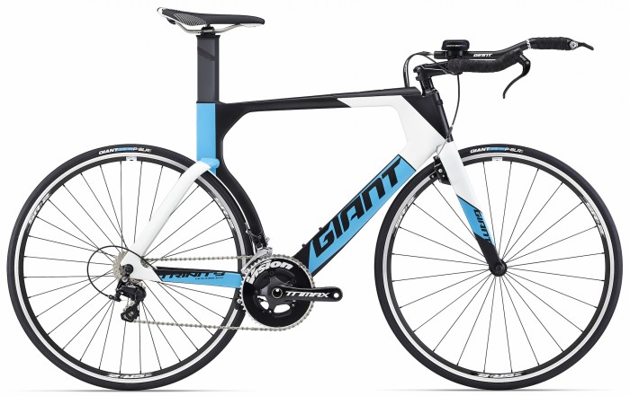 The Trinity Advanced model offers the same Advanced-grade frame as the Advanced Pro series but without the AeroVault System, rear brake fairing and AeroDrive fork, stem and base bar.