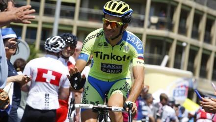 Giro d' Italia 2015 - 98a Edizione - 18a tappa Melide - Verbania 170 km - 28/05/2015 - Ivan Basso (Tinkoff - Saxo) - foto Luca Bettini/BettiniPhoto©2015