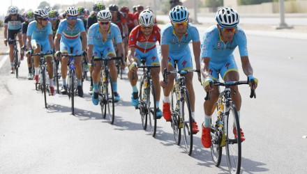 Abu Dhabi Tour 2015 - 2a tappa Yas Marina Circuit - Yas Mall 129 km - 09/10/2015 - Paolo Tiralongo (Astana) - foto Roberto Bettini/BettiniPhoto©2015