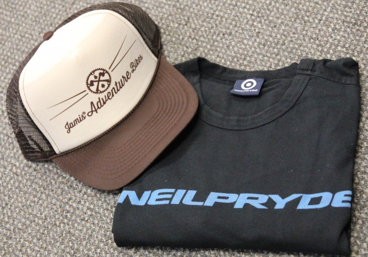 Friday_Five_Jamis_Hat_NeilPryde_tshirt_prize_giveaway