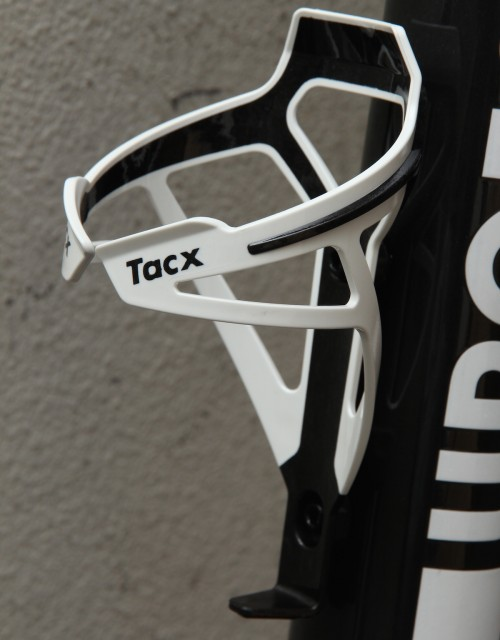 TACX Deva Bicycle Cycling Water Bottle Cage 29 Grams Silver//Gray