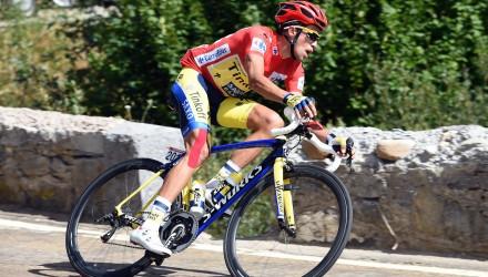 Vuelta Spagna 2014 - 69a Edizione - 14a tappa Santander - La Camperona Valle de Sabero 199 km - 06/09/2014 - Alberto Contador (Tinkoff - Saxo) - foto Graham Watson/BettiniPhoto©2014