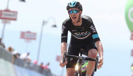 Giro d'Italia 2016 - 99a Edizione - 15a tappa Castelrotto - Alpe di Siusi 10.8 km - 22/05/2016 - Ian Boswell (Team Sky) - foto Ilario Biondi/BettiniPhoto©2016