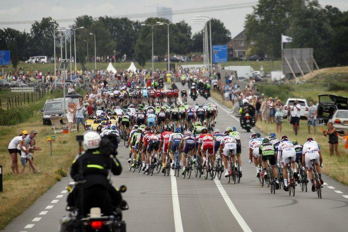 Tour de France 2015 - 102a Edizione - 2a tappa Utrecht - Zelande 166 km - 05/07/2015 - Veduta - Ventagli - foto Wessel Van Keuk/CV/BettiniPhoto©2015
