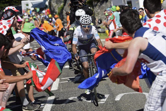Tour de France 2015 - 102a Edizione - 10a tappa Tarbes to La Pierre-Saint-Martin 167 km - 14/07/2015 - Nairo Quintana (Movistar) - foto PN/BettiniPhoto©2015