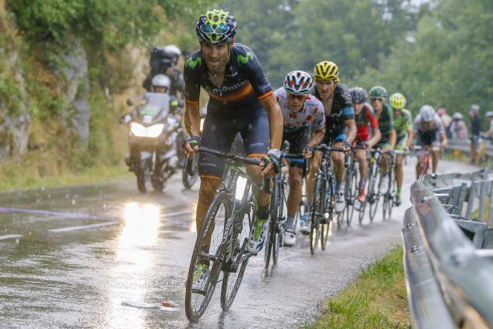 Tour de France 2015 - 102a Edizione - 12a tappa Lannemezan - Plateau de Beille 195 km - 16/07/2015 - Alejandro Valverde (Movistar) - foto Luca Bettini/BettiniPhoto©2015
