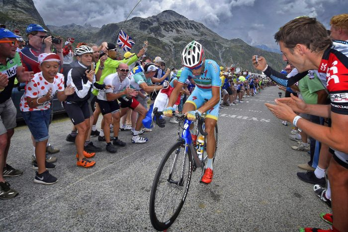 Tour de France 2015 - 102a Edizione - 19a tappa Saint Jean de Maurienne - La Toussuire 138 km - 24/07/2015 - Vincenzo Nibali (Astana) - foto Vincent Kalut/PN/BettiniPhoto©2015