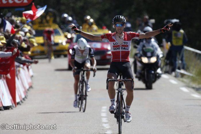 Tour de France 2016 - 12a tappa Montpellier / Mont Ventoux/Chalet-Reynard 178 km - 14/06/2016 - Thomas De Gendt (Lotto Soudal) - foto im van Wichelen/CV/BettiniPhoto©2016
