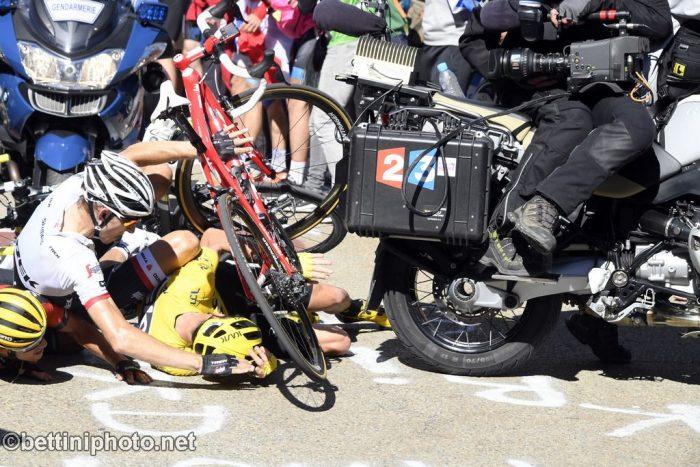 Tour de France 2016 - 103a Edizione - 12a tappa Montpellier - Mont Ventoux 184 km - 14/07/2016 - Christopher Froome (Team Sky) - Bauke Mollema (Trek - Segafredo) - Richie Porte (BMC) - foto POOL Bernard Papol/L'Equipe/BettiniPhoto©2016
