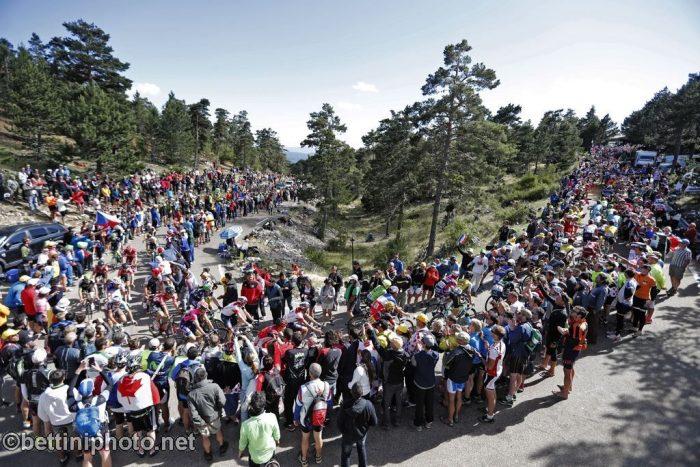 Tour de France 2016 - 12a tappa Montpellier / Mont Ventoux/Chalet-Reynard 178 km - 14/06/2016 - Veduta pubblico - foto Dion Kerkhoffs/Tim van Wichelen/BettiniPhoto©2016