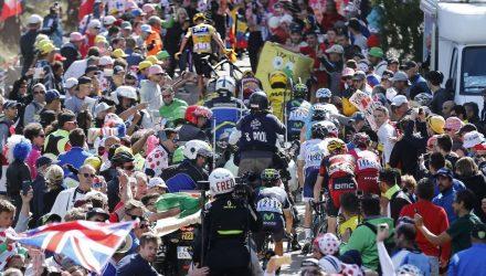 Tour de France 2016 - 12a tappa Montpellier / Mont Ventoux/Chalet-Reynard 178 km - 14/06/2016 - Caduta Froome - Veduta pubblico - foto Dion Kerkhoffs/Tim van Wichelen/BettiniPhoto©2016